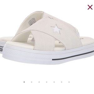 New with box Women's converse Sandals